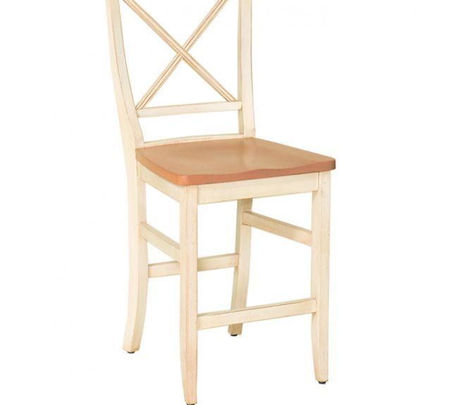 68027-24in la croix bar chair-wd seat