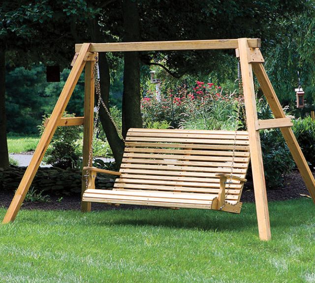 231741-wood rb a-frame w 5ft porch swing