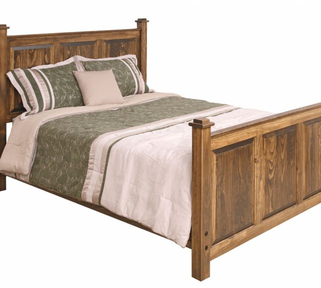 1425-shaker queen size bed