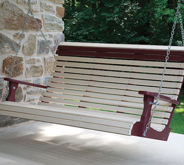 231741-2 tone 5ft porch swing